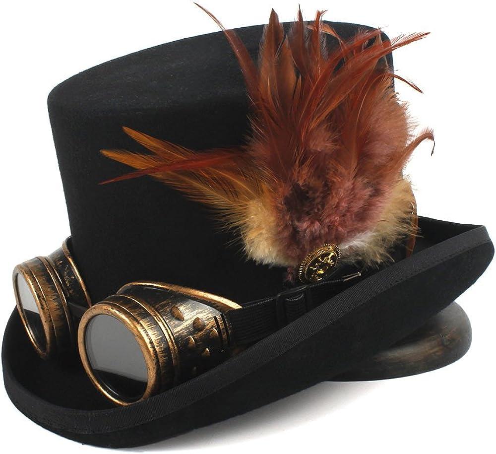 GERUIQI Steampunk Top Hat 4...