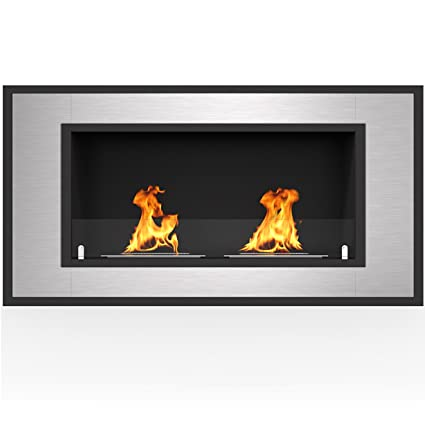 Amazon Com Regal Flame Cynergy 42 Ventless Built In Wall Recessed
