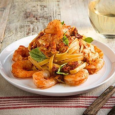 Shrimp Fettuccine Pasta and Fresh Mozzarella in a Tomato Cream Sauce by Chef'd