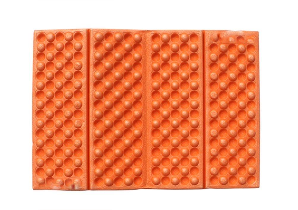 hosaire 1個アウトドアクッションポータブルモバイルクッション携帯マッサージクッションオレンジ B01HQ2JOLK オレンジ