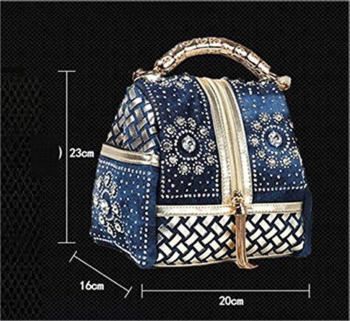 Frauen Taschen, Damen Handtaschen, Denim Schulter Beutel