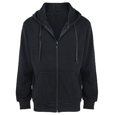 Gary Com Fleece Hoodies for Men Lightweight Spring Long Sleeve Zipper Active Mens Jackets Sports Full Zip Sweatshirts