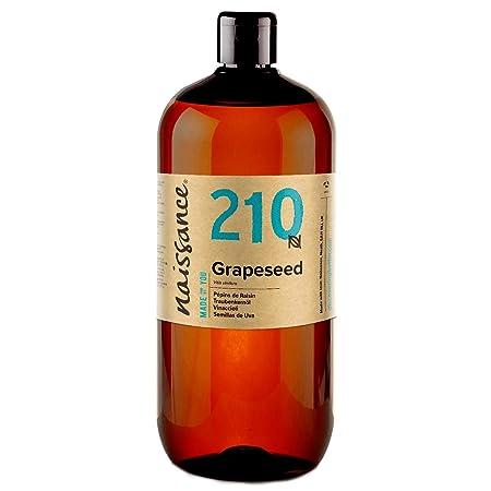 Naissance Aceite Vegetal de Semillas de Uva n. º 210 - 1 Litro ...