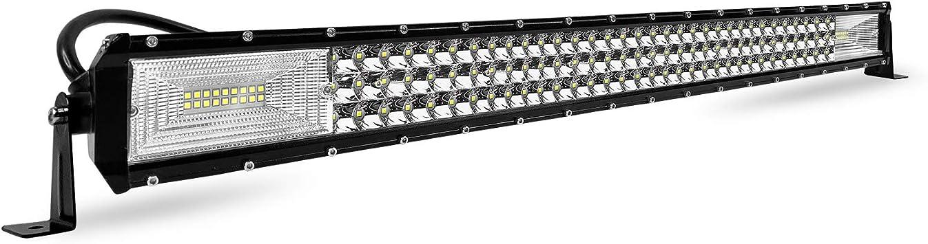 Froadp 405w Led Zusatzscheinwerfer Auto Scheinwerfer Nebel Licht Arbeitsscheinwerfer Geführtes Arbeits Licht Bar Ip67 Wasserdicht Rückfahrscheinwerfer Für Suv Lkw Utv 800x75x50mm Auto