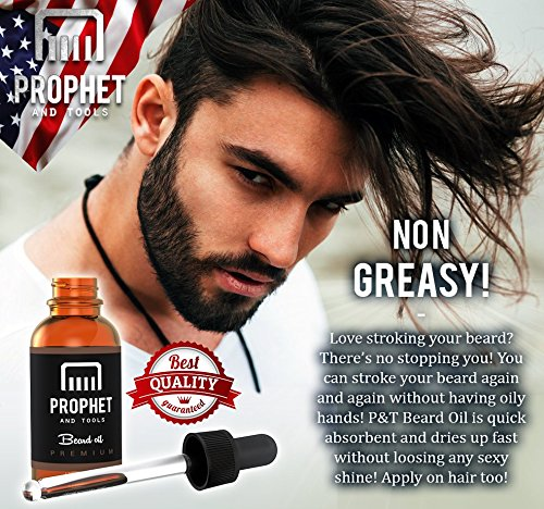 Amazon.com : SUPER SALE Prophet and Tools Beard Oil and Beard Comb ...