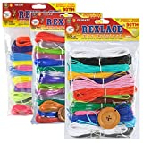 Pepperell Rexlace Cord 450 FT 2 Rings 6 lanyard Snaps EZ Gimper Beading line Kit