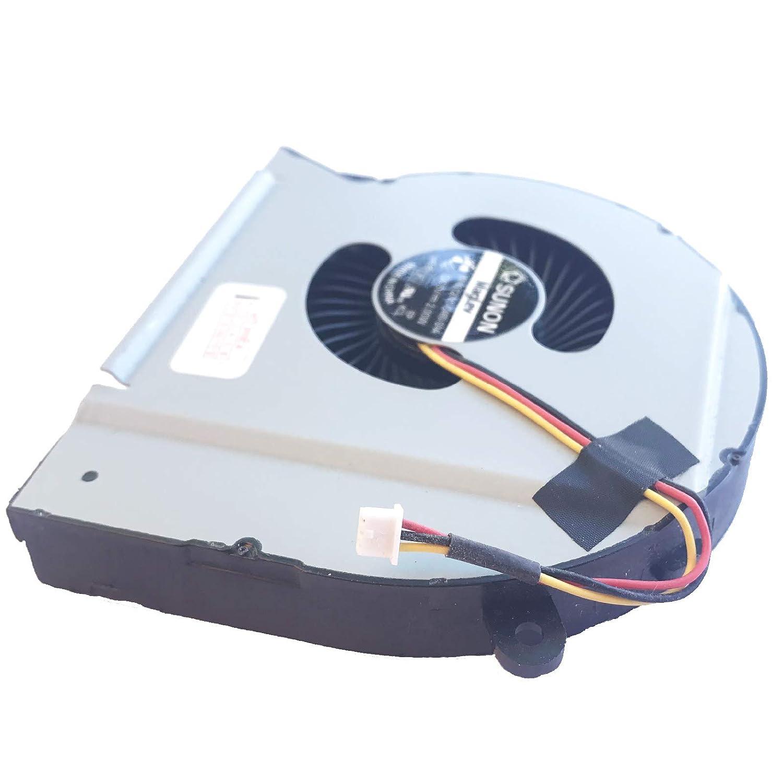 L/üfter//K/ühler Fan kompatibel mit Dell XPS 17-L701X 17-L702X Version 2