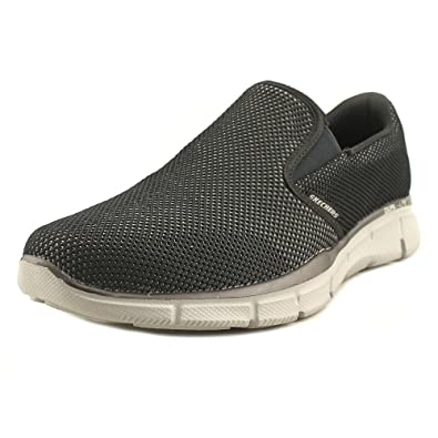 10729280097 Skechers Equalizer Shryke Mens Slip On Sneakers Black Gray 9