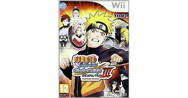 Wii Naruto Clash of Ninja Revolution 3: Amazon.es: Videojuegos
