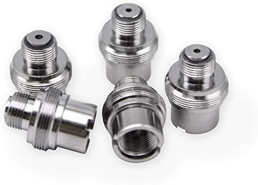 5 Pack 510 to eGo Adapter Connector