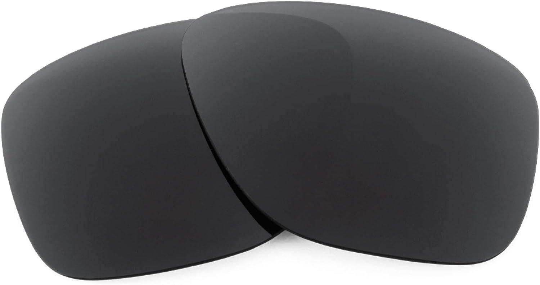 Revant Verres de Rechange pour Oakley Breadbox - Compatibles avec les Lunettes de Soleil Oakley Breadbox Noir Furtif - Non Polarisés