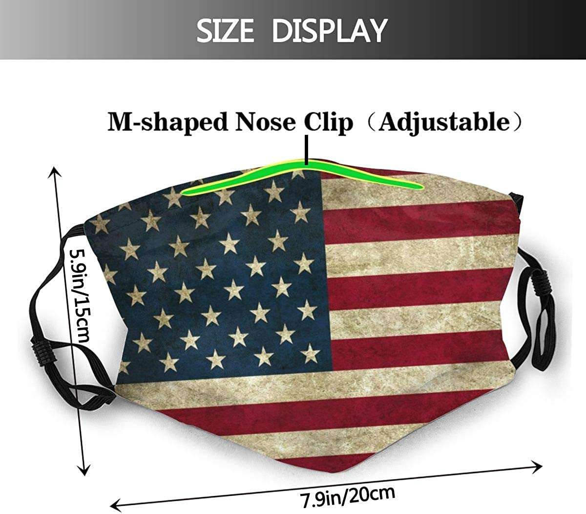 VV8VJBOY0D Mouth Facial Cloth Kid Filter Waterproof Underwater World Sharks Face Protection Nose Cold Man Women