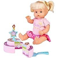 Nenuco -Feliz Cumpleaños, Muñeca bebé de cumple para regalar a los más pequeños a partir de 3 años de edad, con una…
