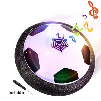 Air Hover Ball Balón de Fútbol Flotante con LED, Pelota con ...