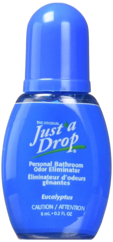 Just a Drop Toilet Odour Eliminator, Eucalyptus, 6 ml Prelam Enterprises Ltd 6ml Blister Pack