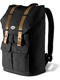 TruBlue The Original Raven - Adaptable Personal Backpack for Laptops up to 15.6 inch - - 22L School Rucksack