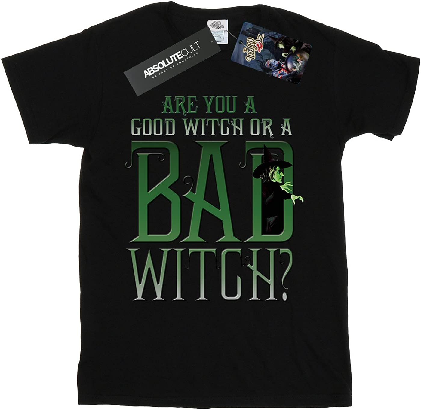 Wizard of Oz The Girls Good Witch Bad Witch T-Shirt