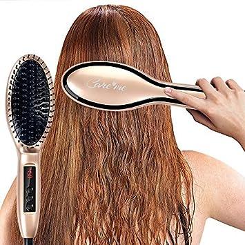 Amazon.com: Care Me pelo alisado de cerámica cepillo para ...