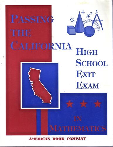 Download Passing the California High School Exit Exam in Mathematics ebook