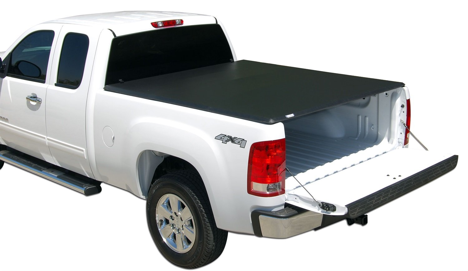 Tonno Pro LR-1045 Lo-Roll Black Roll-Up Truck Tonneau Cover