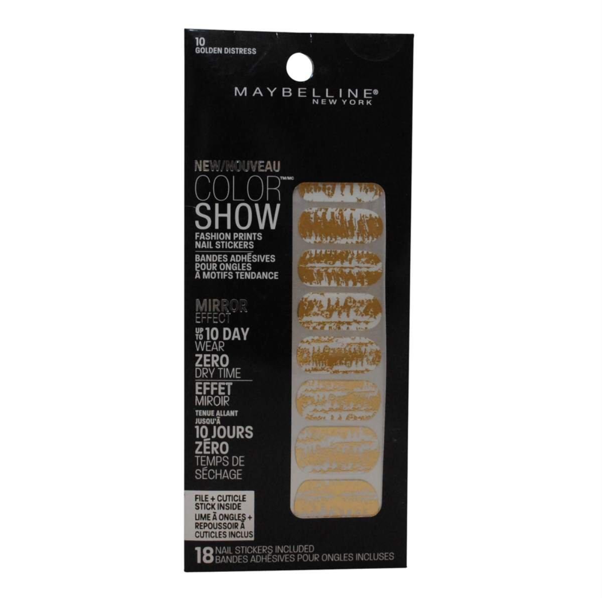Amazon.com: Maybelline New York Color Show Fashion Prints Nail ...