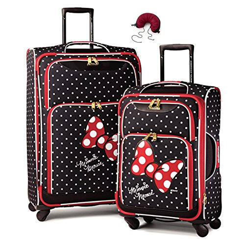 american-tourister-disney-softside-spinner-2-piece-luggage-set-21-and-28-and-travel-pillow-one-size-