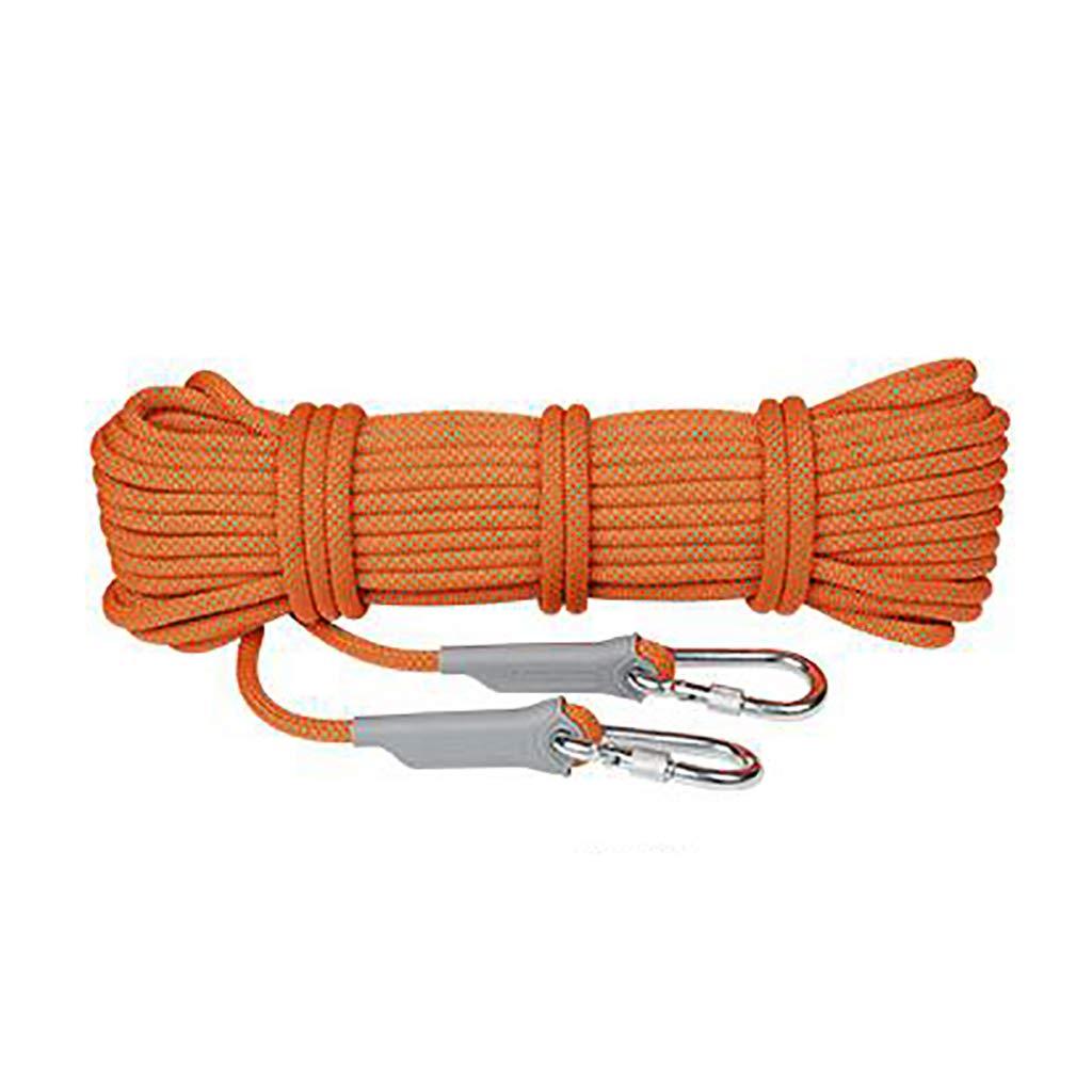 B QARYYQ Corde d'escalade adaptée au Camping Rrock Randonnée Trekking Options Multi-Tailles et Multi-Couleurs Cordes (Couleur   B, Taille   12mm 20m) 10.5mm 20m