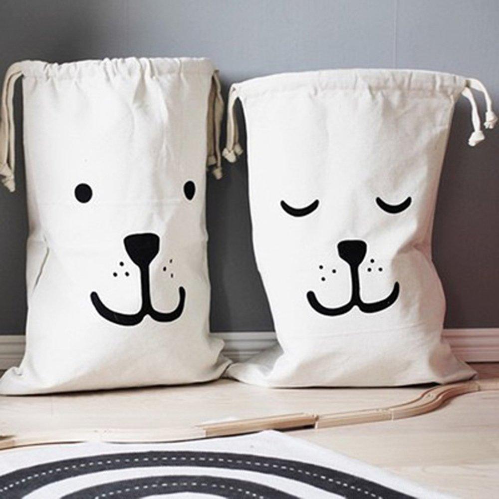 Bolsas de lavandería Julie con cordón organizador para el hogar (juego de 2) Yonji