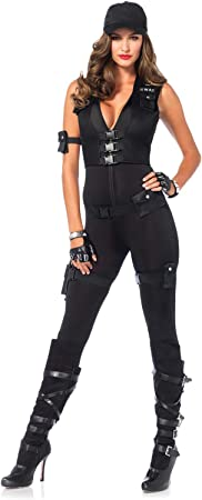 Leg Avenue 85463 - Disfraz de Comandante SWAT Deluxe ...