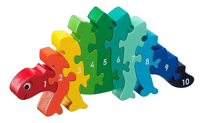 Lanka Kade NJ65 Dinosaur 1-10 Jigsaw Puzzle