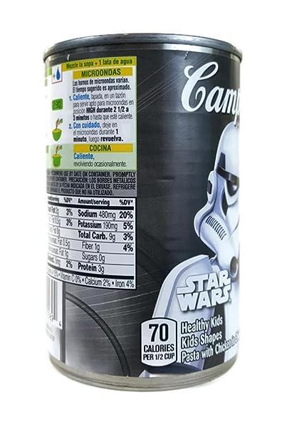 Amazon.com : Campbells Star Wars Stormtrooper Label Fun ...
