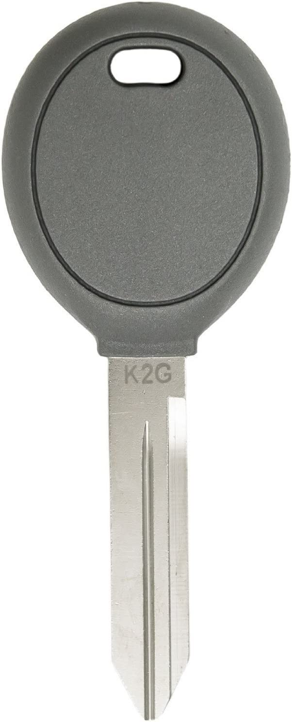 TWO Y160-PT REPLACEMENT CHRYSLER DODGE JEEP TRANSPONDER CHIP IGNITION KEY NEW