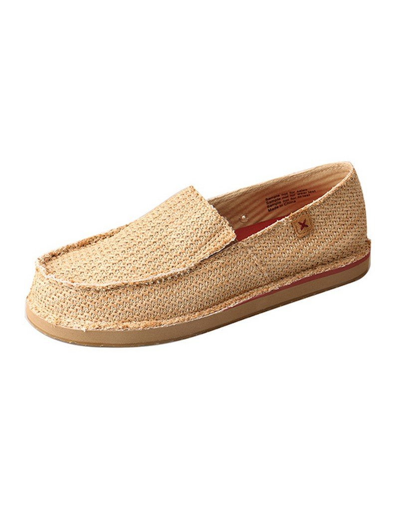 Twisted X Men's Pattern Casual Loafers Moc Toe Tan 9 D