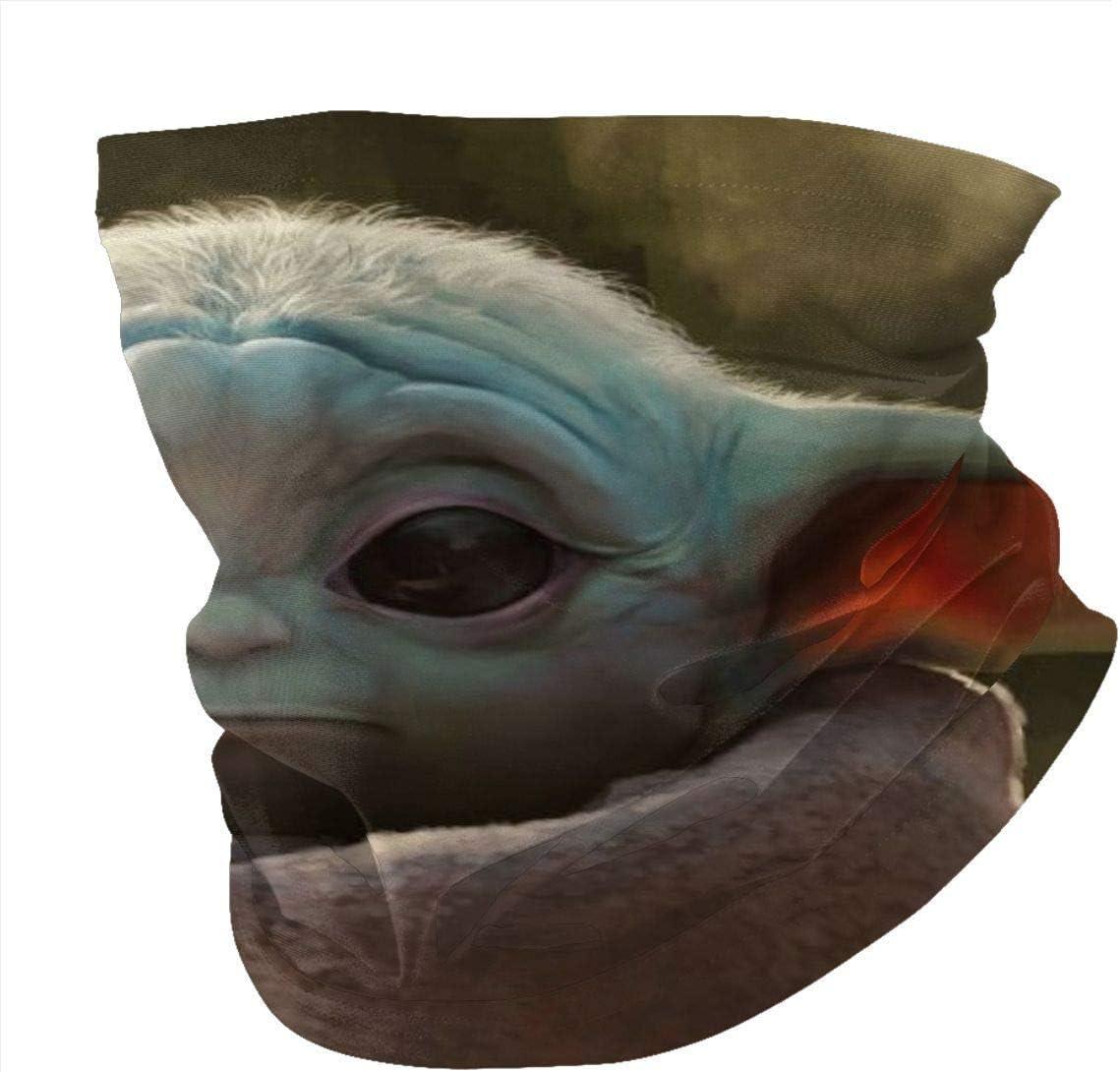 jhgfd7523 The Mandalorian Sports Riding Mask Headwear Face Scarf Cover Unisex Outdoor Headband Turban Neck Windproof Case Sun Protection Seamless Bandana 50 X 25 Cm