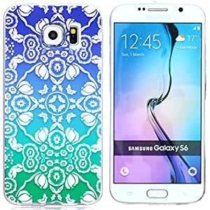 Case for S6,Soft Case For S6,Skin Case For S6,Case For Samsung Galaxy S6,Candywe Fashion Painted Soft TPU Back Case Cover for Samsung Galaxy S6 028