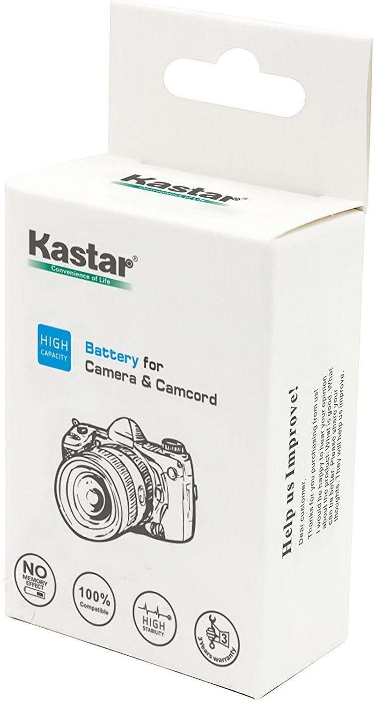 Kastar VBX070 Battery 2 Pack for Pentax D-Li88 Panasonic VW-VBX070 Sanyo DB-L80 DB-L80AU /& Pentax Optio H90 P70 P80 W90 WS80 Panasonic HX-DC1 DC2 DC10 DC15 WA10 HM-TA2 TA20 Camera