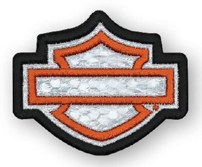 Amazon Harley Davidson Embroidered Reflective Blank Bs Emblem