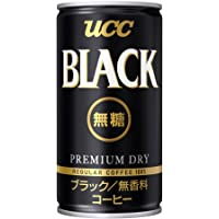 UCC 悠诗诗****黑咖啡饮料(易拉罐式)185g(日本进口)