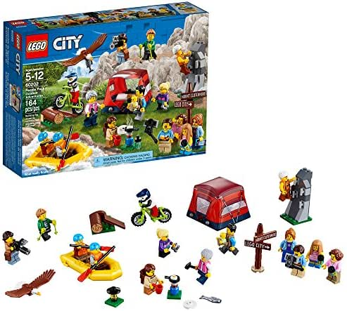 LEGO City People Pack – Outdoors Adventures 60202 Building Kit (164 Piece)