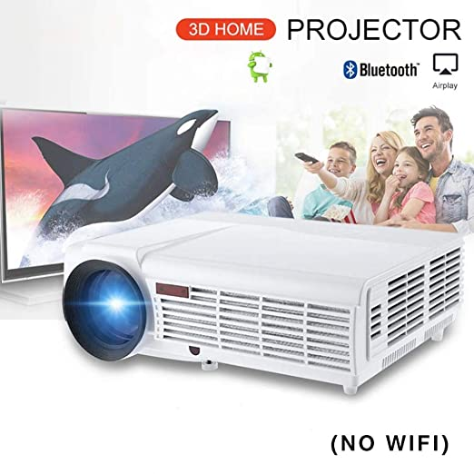 KAIDILA Proyector, LED 96+ proyector 3D Home Theater Android 6.0 ...