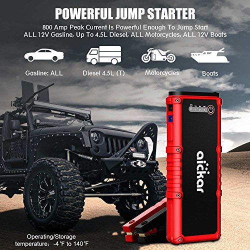 Best Portable Jump Starter 2020.Top 10 Best Portable Car Battery Jump Starter Power Bank
