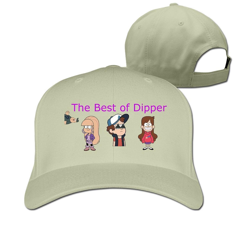 HNN Unisex The Best Of Dipper Peaked Baseball Caps Hats