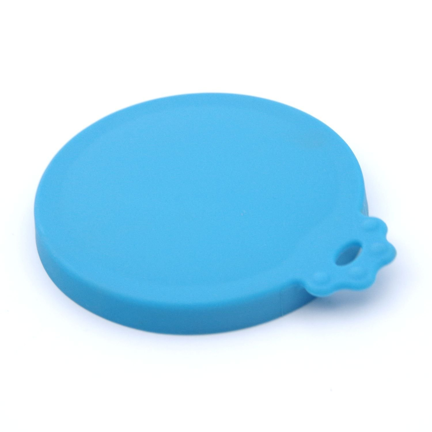 Super Design Silicone Can Cover for Multiple Sizes Blue