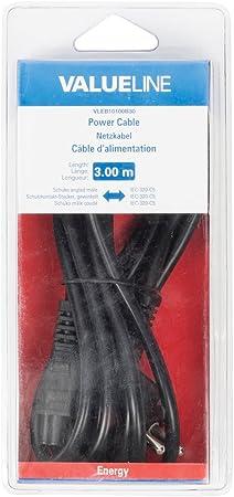 Valueline VLEB10030B30/Power Cable 3/m Black