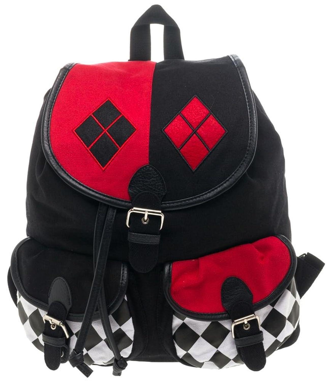 dc ics harley quinn knapsack mochila 14x 17en