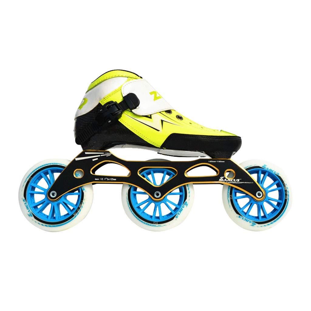 ailj スピードスケートシューズ90MM-110MM調整可能なインラインスケート 限定タイムセール ストレートスケートシューズ 3色 色 : 10%OFF Red サイズ さいず EU 45 US 27.5cm 12 4 3 青 11 JP 35 22.5cm UK B07HTS4ST2