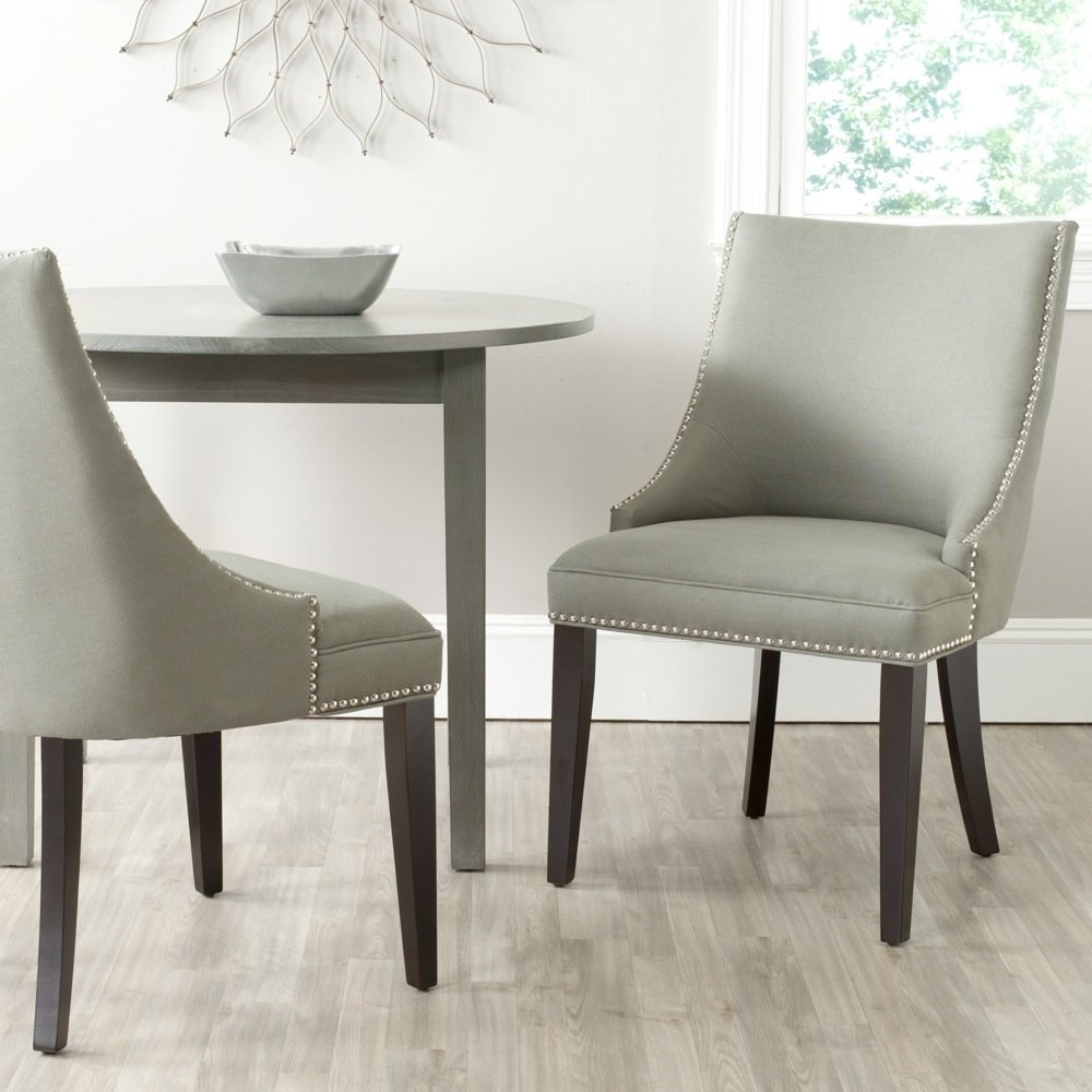 Amazon.com - Safavieh Mercer Collection Afton Side Chair, Granite ...