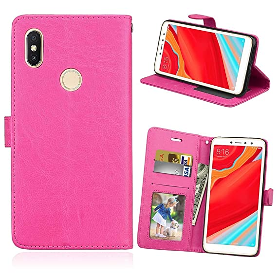 Amazon com: WVYMX Xiaomi Redmi S2 Wallet Case, [Folio Cover