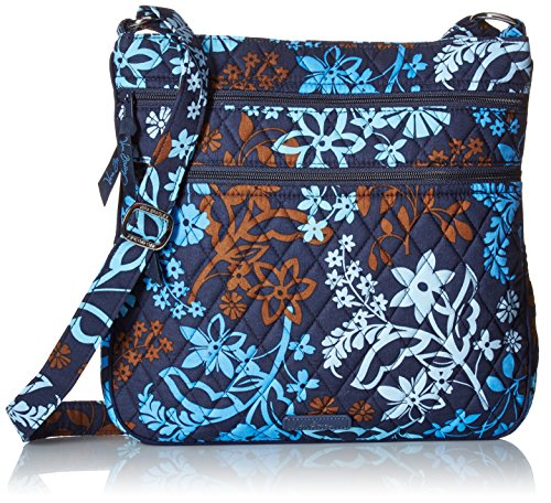 Vera Bradley Triple-Zip Hipster Cross-Body Bag - Java Flo...