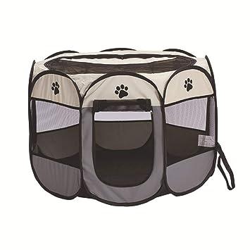 JJZHY Cama para Mascotas Plegable Octagonal Tienda para Mascotas ...
